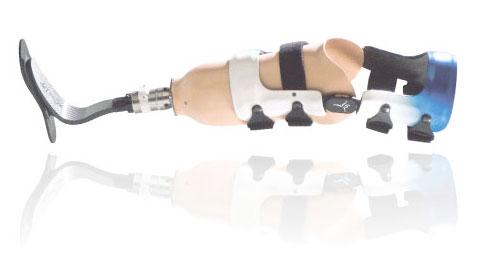 Orthèse du genou pour amputation