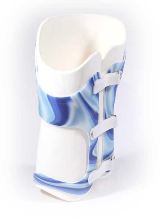 Molded corset