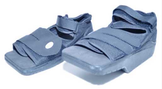 Discharge sandal