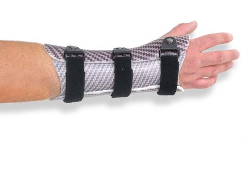 Molded wrist orthosis